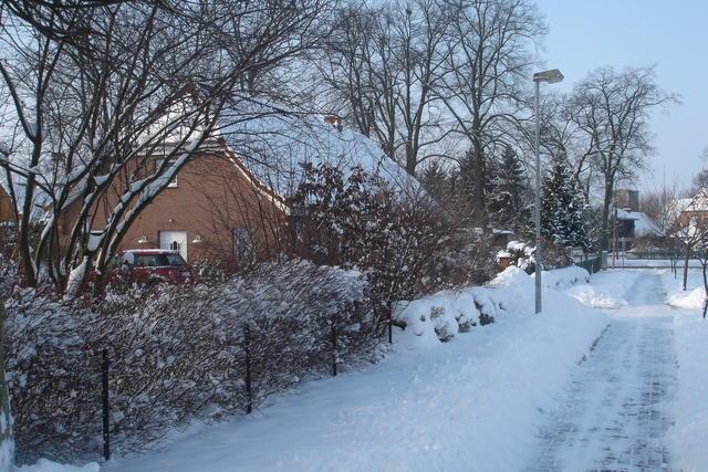 Vellahner Weg - Schneechaos